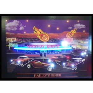 HAILEYS DINER NEON/LED Picture – 3HAINL | moneymachines.com