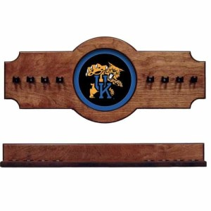 Kentucky 2-Piece Cue Rack Pecan | Moneymachines.com