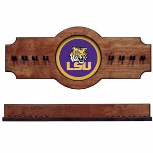 Louisiana State University 2-Piece Cue Rack Pecan | Moneymachines.com