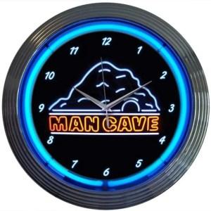 MANCAVE NEON CLOCK – 8MANCA | moneymachines.com