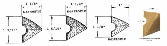 Pool Table Rail Cushion Profile Diagram | moneymachines.com
