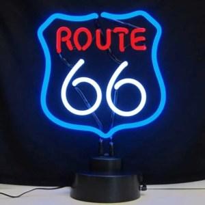 ROUTE 66 NEON SCULPTURE – 4RT66X | moneymachines.com