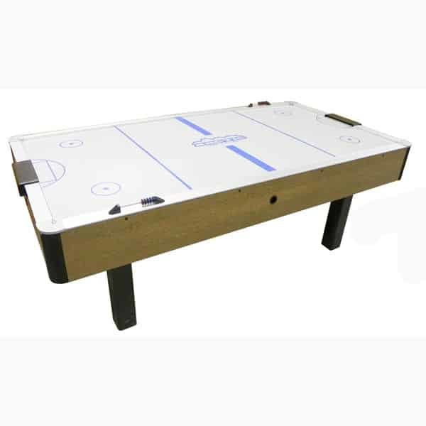 Dynamo Branded Oak Arctic Wind Air Hockey Table | moneymachines.com
