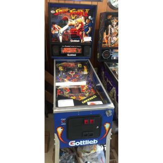 Used Gottlileb Street Fighter Pinball Machine | moneymachines.com