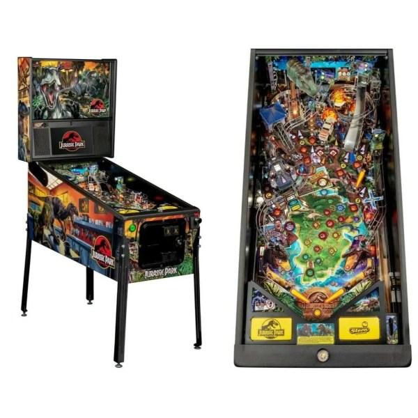 Stern Jurassic Park Premium Pinball Game Machine | moneymachines.com