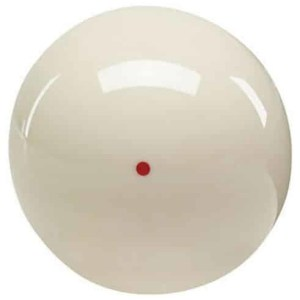 "Aramith Belgian 2-1/4"" Red Dot Cue Ball - RSCB 