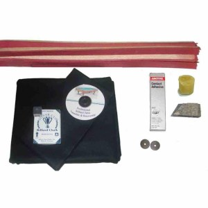 Proline Classic 303 Black Pool Table Recovering and Refelting Kit | moneymachines.com
