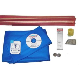 Proline Classic 303 Euro Blue Pool Table Recovering and Refelting Kit | moneymachines.com