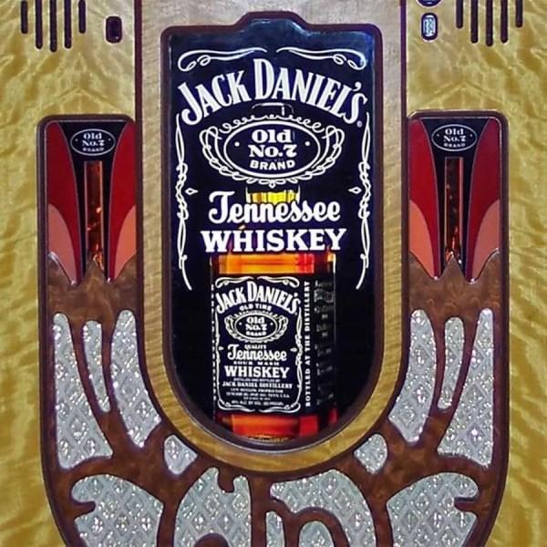 Rock-Ola Bubbler Jack Daniels Music Center Jukebox Grill | moneymachines.com