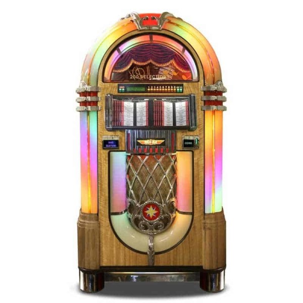 Rock-Ola Bubbler Vinyl 45 RPM Jukeboxes | moneymachines.com