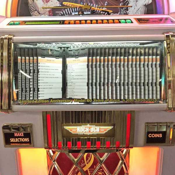 Rockola Elvis CD Jukebox Middle | moneymachines.com