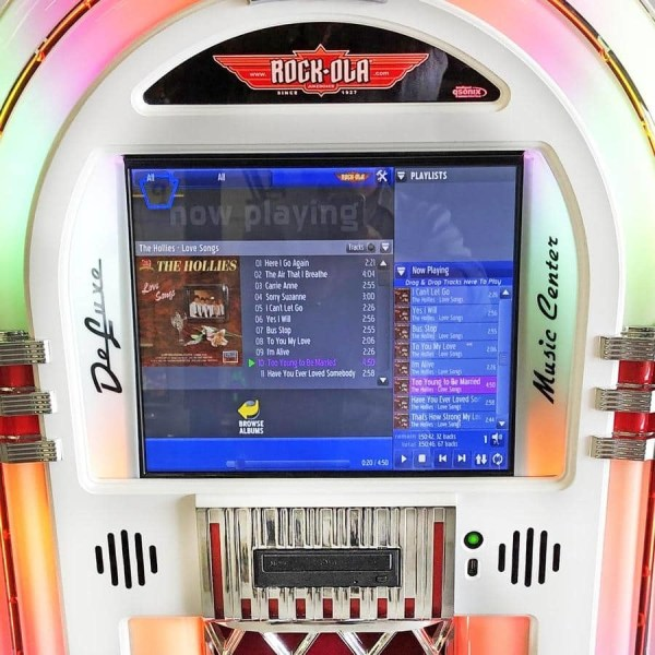 White Rock-Ola Bubbler Digital Music Center Jukebox | moneymachines.com