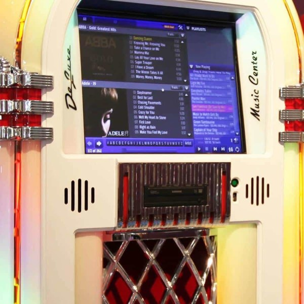 White Rockola Digital Jukebox | moneymachines.com