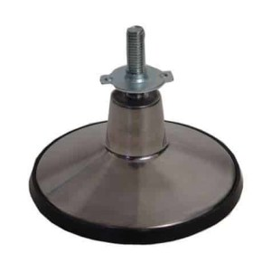 Air Hockey Table 6 Inch Cast Aluminum Leg Leveler Foot | moneymachines.com