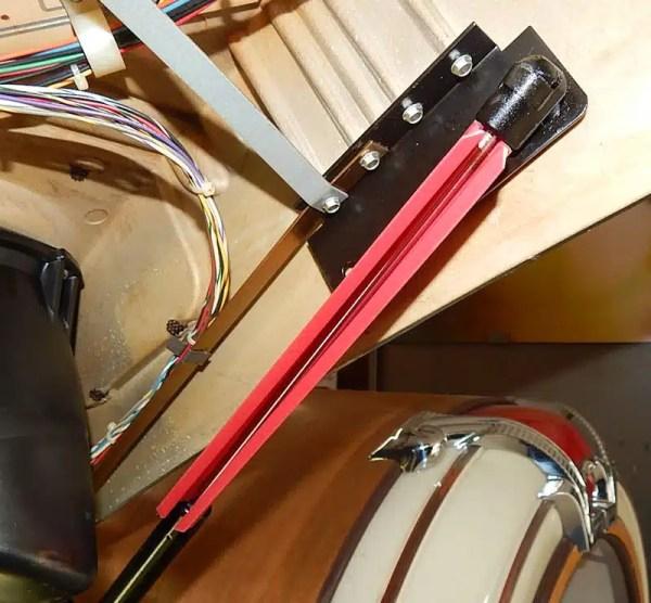 Jukebox Door Piston Support | moneymachines.com