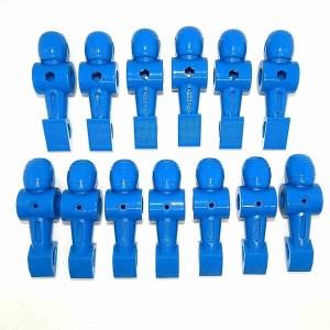 Carrom Signature Foosball Table Counter-Balanced Blue Helmeted Men Players | moneymachines.com