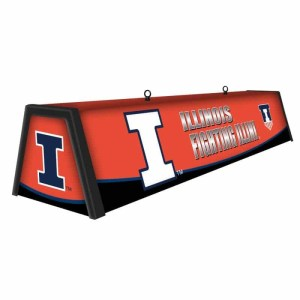 "Illinois Fighting Illini College 44"" Victory Game Table Lamp 