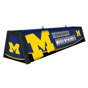"Michigan Wolverines College 44"" Victory Game Table Lamp 