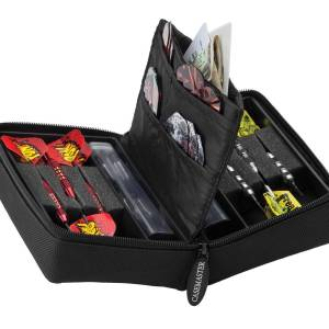 Case Master Elite Jr Black Nylon 2 Set Dart Case | moneymachines.com