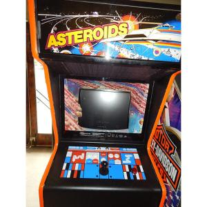 Asteriods Multigame Arcade Game | moneymachines.com