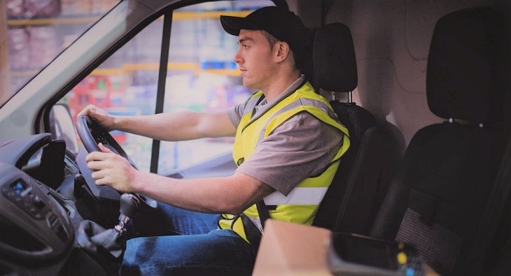 Get a job as a delivery driver