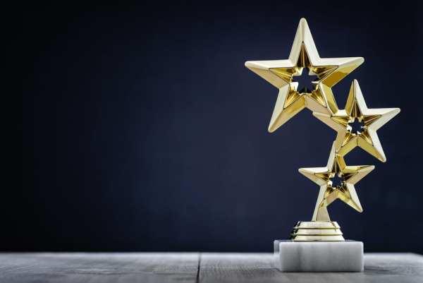 Star trophy/award