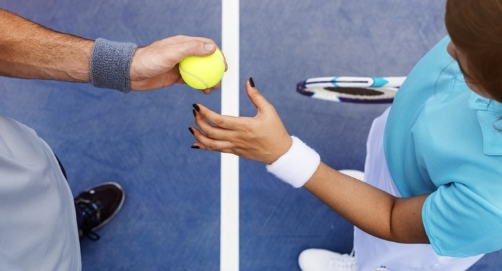 Make money teaching tennis
