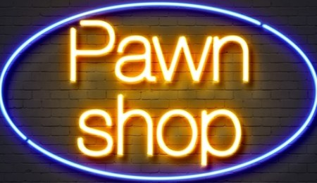 Pawn shop sign