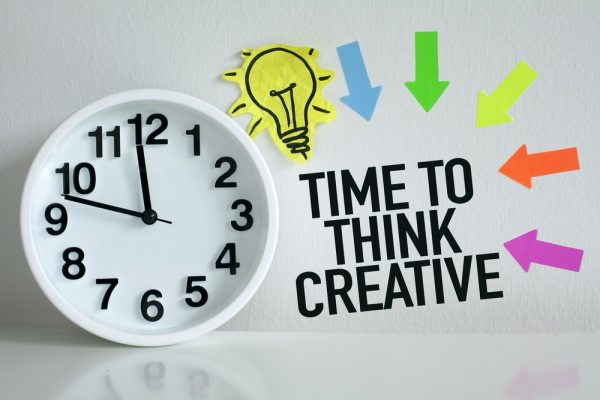 Time to think creative graphic