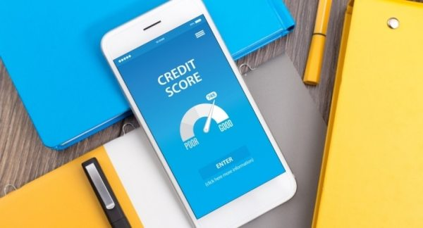 Credit score on phone