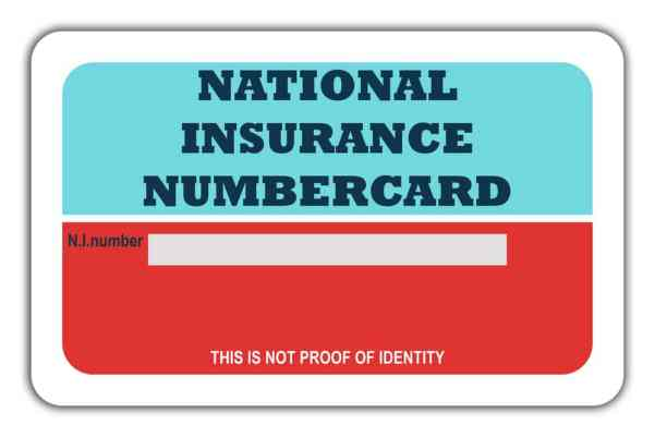 National Insurance Card