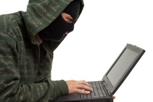 online fraudster