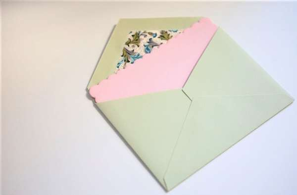 Envelope invitation