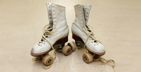 Vintage rollerskates