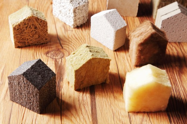 Home insulation materials