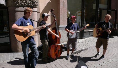 Make money busking