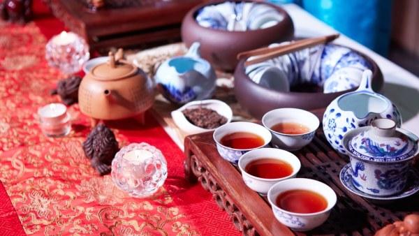 Chinese tea ceremony utencils