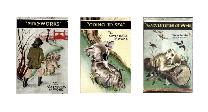 The Adventures of Wonk Ladybird Books