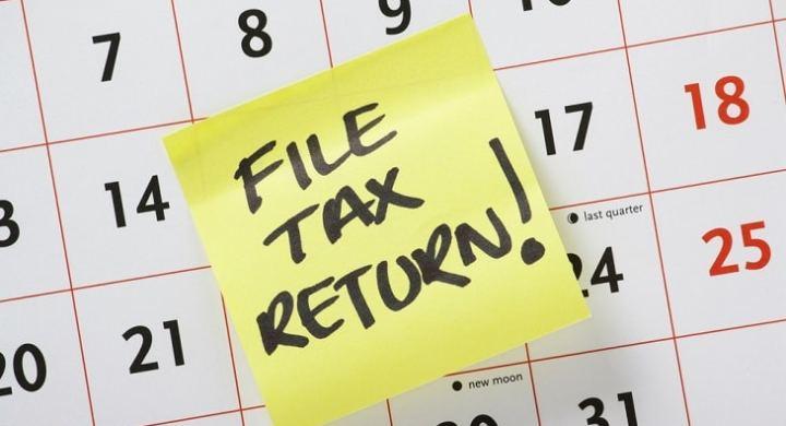 File tax return before the deadline