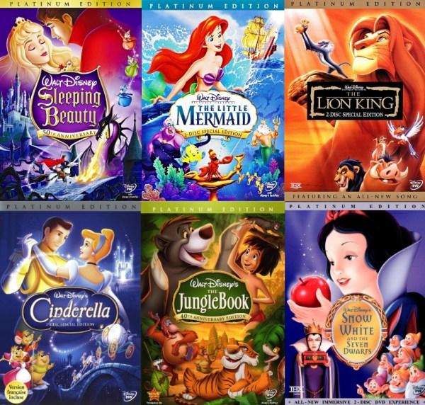 Classic Disney films