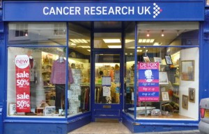 moneymagpie_selling charity shop items_cancer-research-uk