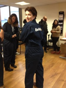 Sarah at a Kwik-Fit ladies evening