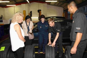 Kwik-Fit Ladies Evening, photo: Kwik-Fit