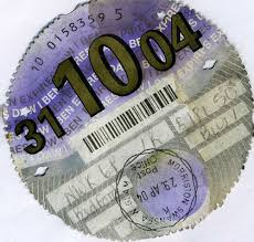 Make a £1,000 with your old tax disc