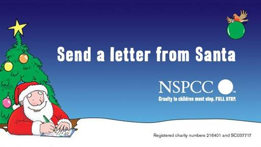 Invisible and unique christmas gifts nspcc letters from santa logo spiritdancerdesigns Image collections