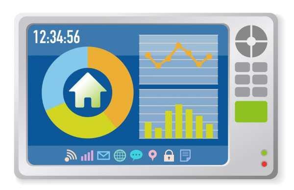 Smart meter graphic