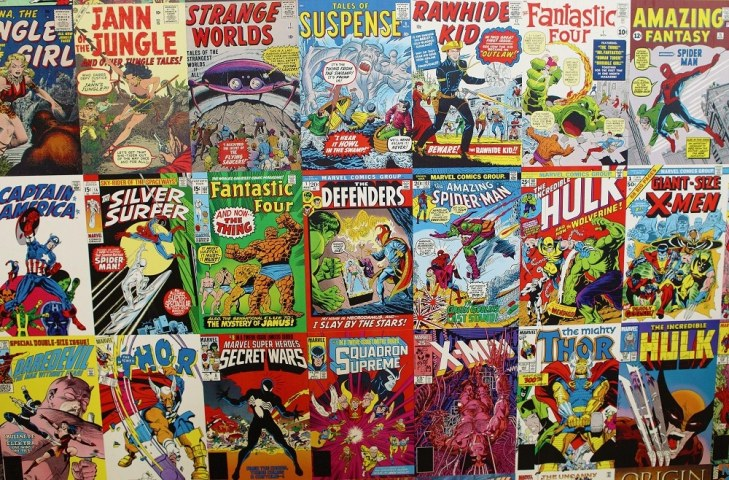 collecting comics
