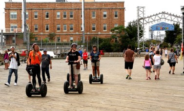 Segway riders at Halifax waterfront 2 copy