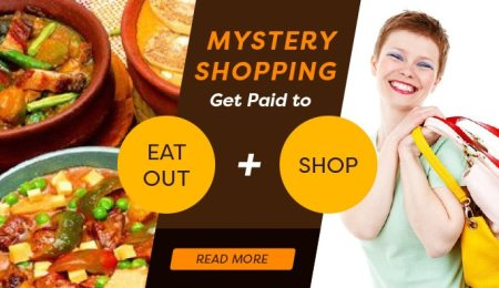 Mystery shopping: Become a mystery shopper and...