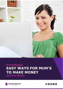 Easy Ways for Mums to Make Money – eBook